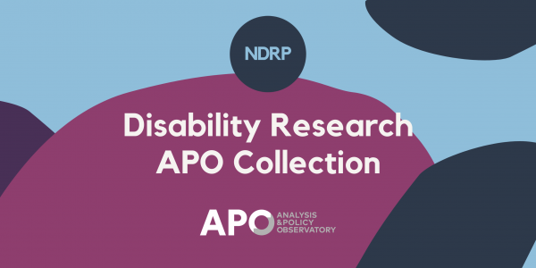 APO Disability Research Collection