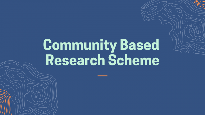 Community Based Research